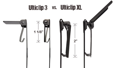 Ulticlip 3 / Ulticlip XL Comparison